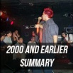 2000 And Earlier Touring Summary
